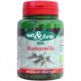 Nat et Form Hamamélis 80 gélules 220mg Nat et Form Circulation Onaturel.fr