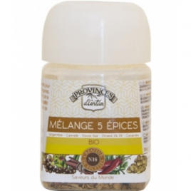 Provence D Antan Mélange 5 Epices bio Recharge 30g Provence D Antan