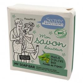 Secrets De Provence Mon savon douceur huile d'olive parfum Feuille de Figuier 100g