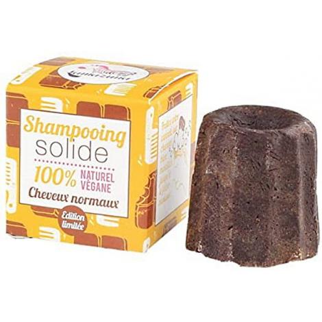 Lamazuna Shampoing solide naturel Cheveux normaux chocolat 55gr Lamazuna