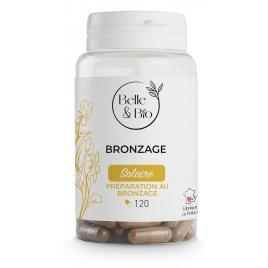 Belle et Bio Bronzage naturel (Bixa Carotte Bourrache) 120 gélules Belle et Bio