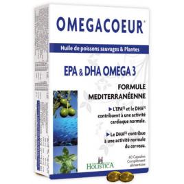 Holistica Omegacoeur 60 capsules Holistica