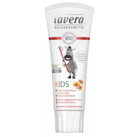 Lavera Dentifrice enfant Basis Fraise Calendula Calcium 75ml sans fluor Onaturel