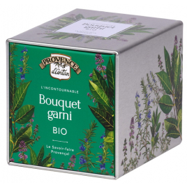 Provence D Antan Bouquet garni bio Coffret métal 16g Provence D Antan