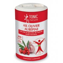Tonic Nature Ail + Olivier + Aubépine Tonic Nature Ail + Olivier + Aubépine 200 capsules Onaturel