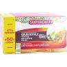 Gelée Royale bio 20 ampoules Super diet de 15ml + 50% gratuit Super Diet