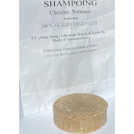 Shampoing Solide Cheveux Normaux 100 % Végétal - 60 gr- Terres Dorées Terres dorées