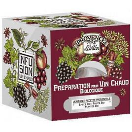 Provence D Antan Tisane Be Cube Préparation pour vin chaud bio 24 sachets 48 gr recharge carton Provence D Antan