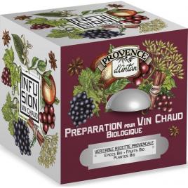 Provence D Antan Tisane cube Préparation pour vin chaud bio 24 sachets 48g Provence D Antan