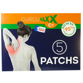 Curcumaxx - Curcumaxx patchs - boîte de 5 patchs Onaturel