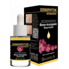 Holistica Dermophytum Elixir de beauté Réparateur Rose musquée Bourrache 15ml Holistica