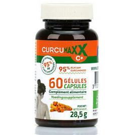 Curcumaxx - Curcumaxx BIO - pilulier 60 gélules Curcumaxx