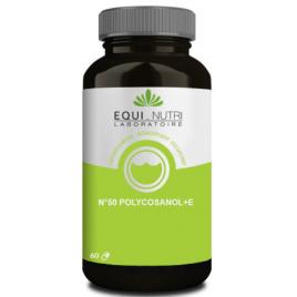 Equi - Nutri Polycosanol + vitamine E 60 gélules Equi - Nutri
