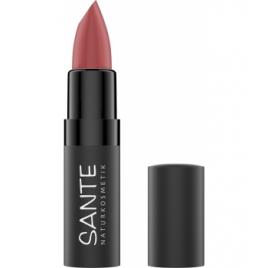Sante Rouge à lèvres mat n°04 Pure Rosewood Sante