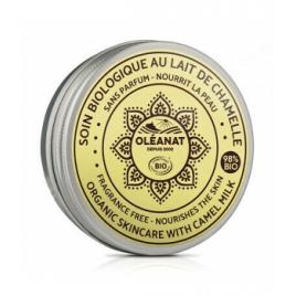 Oleanat Baume visage et corps au lait de Chamelle sans parfum 50ml Oleanat