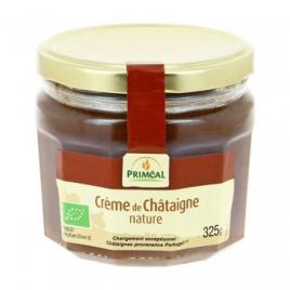Primeal Crème de châtaigne nature pot de 325g Primeal