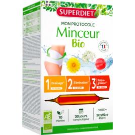 Super Diet Protocole Minceur 30 ampoules de 15ml Super Diet