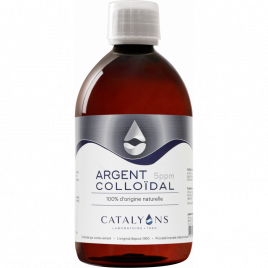 Oligo element ARGENT colloidal 5 PPM Catalyons 500 ml Catalyons