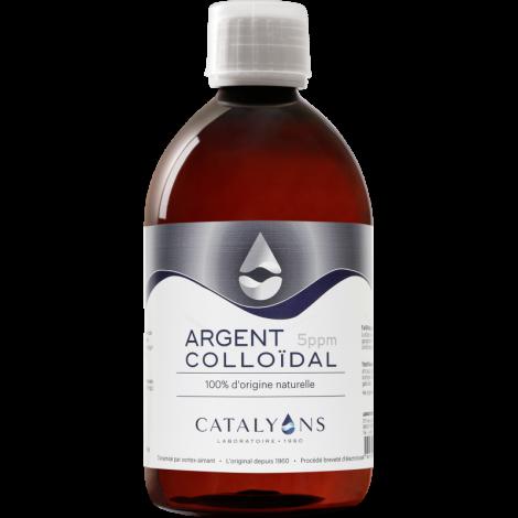 Oligo element ARGENT colloidal 5 PPM Catalyons 500 ml Catalyons