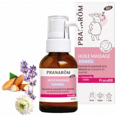Pranarôm Huile de massage Sommeil bio PRANABB 30 ml Pranarôm