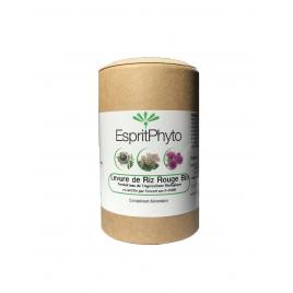 Espritphyto Levure de riz rouge bio 120 gélules - 4 mois de cure Esprit phyto