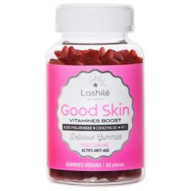 Lashilé Beauty Good Skin Acide Hyaluronique goût Fraise candy 60 gummies Lashilé Beauty