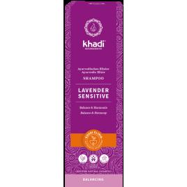 Khadi Shampoing ayurvédique Lavender Sensitive 200 ml Khadi