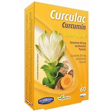 Orthonat Nutrition Curculac Curcumin Confort Digestif 60 gélules Orthonat Nutrition