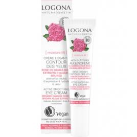 Logona Crème lissante contour des yeux Rose de Damas bio / Kalpariane 15 ml Logona