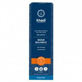 Khadi Shampoing ayurvédique Neem Balance 200 ml Khadi