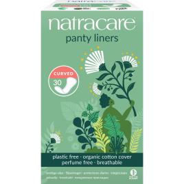 Natracare 30 protèges slip naturels incurvés Natracare