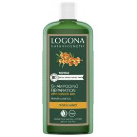 Logona Shampoing réparateur Argousier bio 250ml Logona