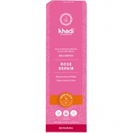 Khadi Shampoing ayurvédique Rose 200 ml Khadi