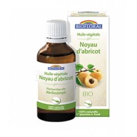 Biofloral Huile végétale Bio de Noyau d'abricot 50ml Biofloral
