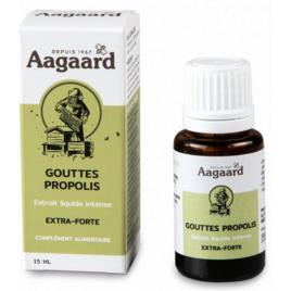Aagaard Gouttes Propolis Flacon Gouttes 15ml immunité Onaturel
