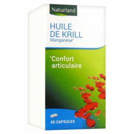 Naturland - Huile De Krill Manganèse - 45 Gélules Naturland