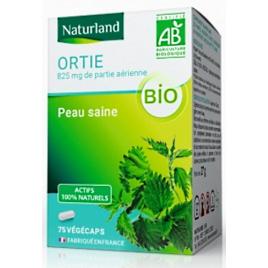 Naturland Ortie bio 75 Gélules Végécaps Onaturel