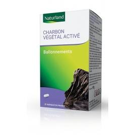 Naturland Charbon Végétal 150 gélules Naturland