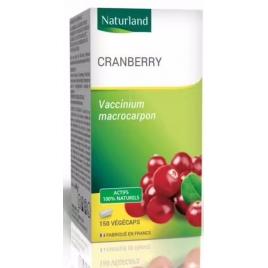 Cranberry 150 Gélules Végécaps Naturland Naturland