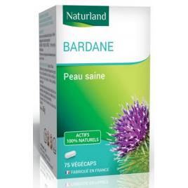 Naturland Bardane 75 gélules vegecaps Naturland