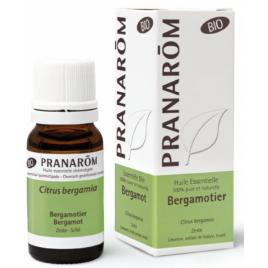 Pranarôm Bergamotier Bio Flacon compte gouttes 10ml Pranarôm