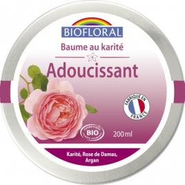 Biofloral Beurre de Karité à la Rose de Damas et Cire d'Abeille 200ml Biofloral