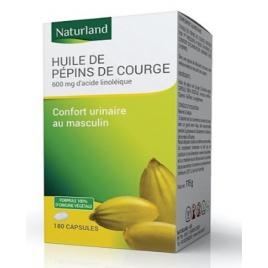 Naturland  Huile de Pépins de courge bio 90 capsules Onaturel