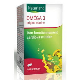 Naturland Omega 3 90 capsules Onaturel