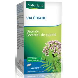 Naturland Valériane 75 Gélules Végécaps Onaturel