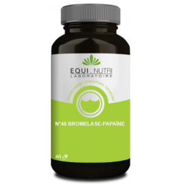 Equi - Nutri Bromelase Papaïne 60 gélules végétales Equi - Nutri