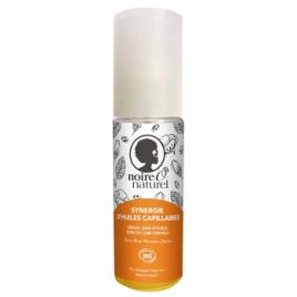 Noire O Naturel Synergie d'huiles capillaires cheveux frisés à crépus 50ml Noire O Naturel