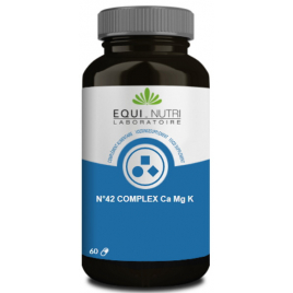 Equi - Nutri Calcium Magnesium Potassium 60 gélules végétales Equi - Nutri