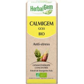 Herbalgem Gemmobase Calmigem Bio Flacon compte gouttes 50ml Herbalgem Gemmobase