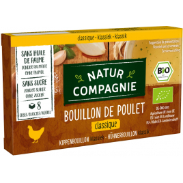 Natur Compagnie Bouillon cube de poulet 88g Natur Compagnie